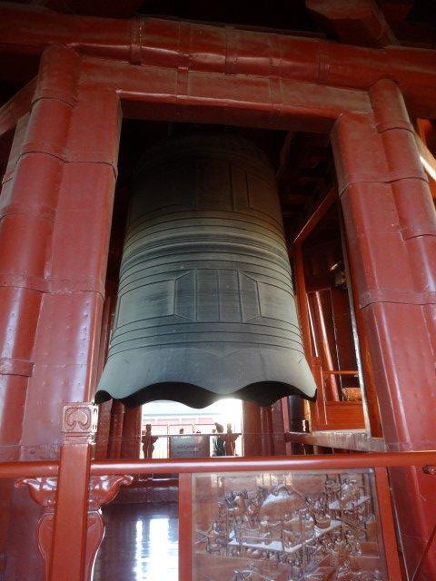 La cloche en haut de la tour du même nom