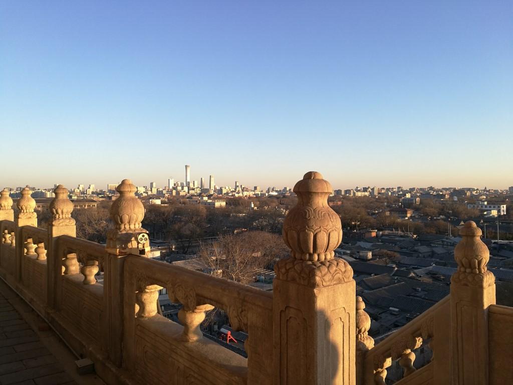 La vue depuis la tour de la cloche
