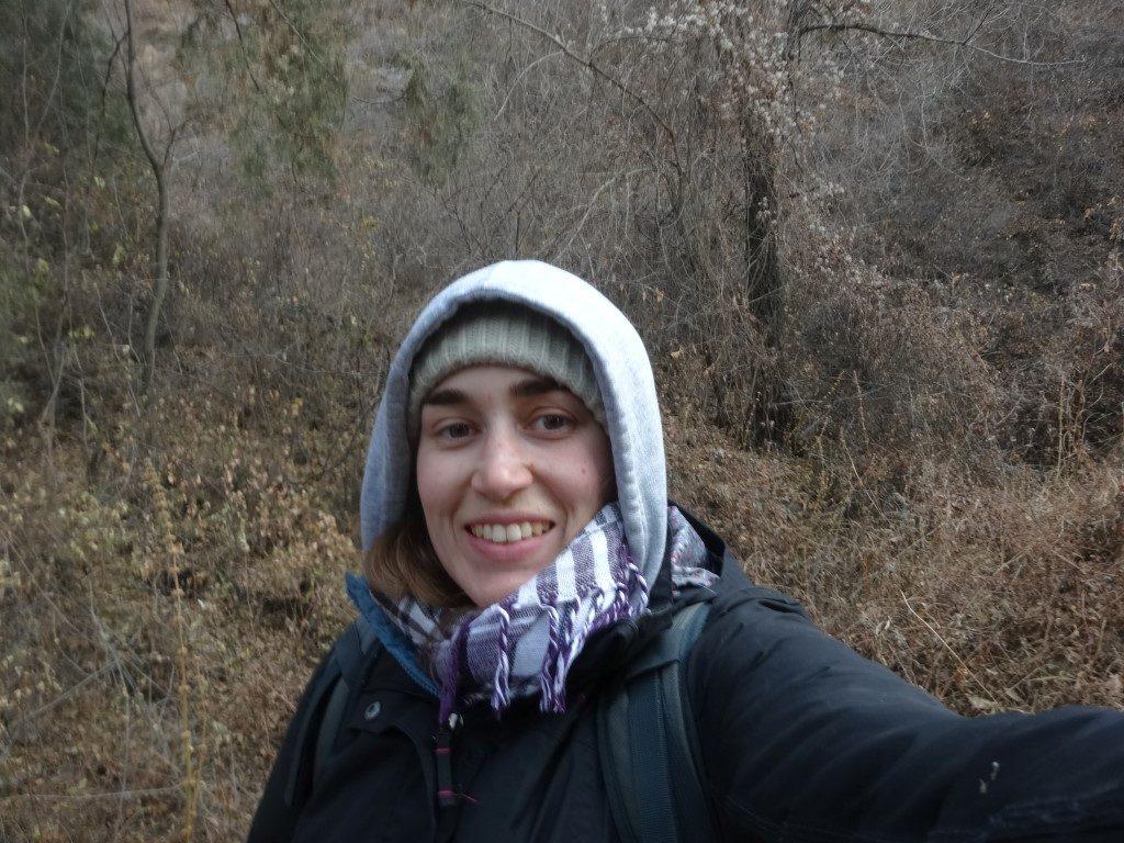 C'est partit pour une journée de randonnée sur les ruines de la Grande Muraille