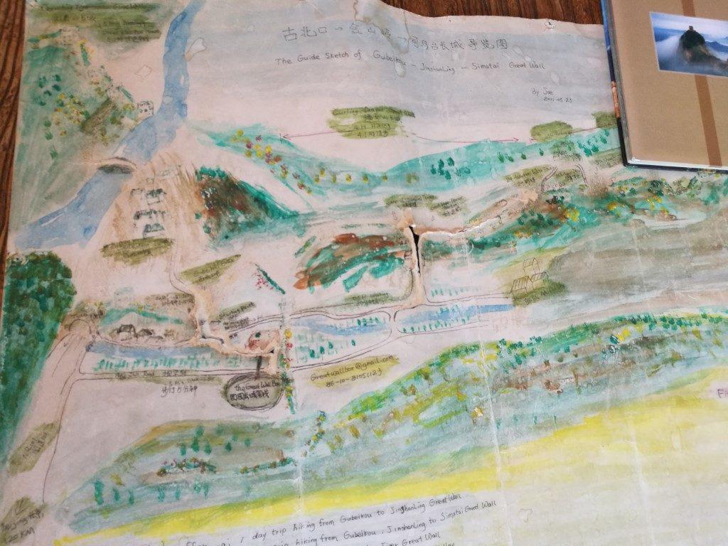 Le plan des balades autour de Gubeiku