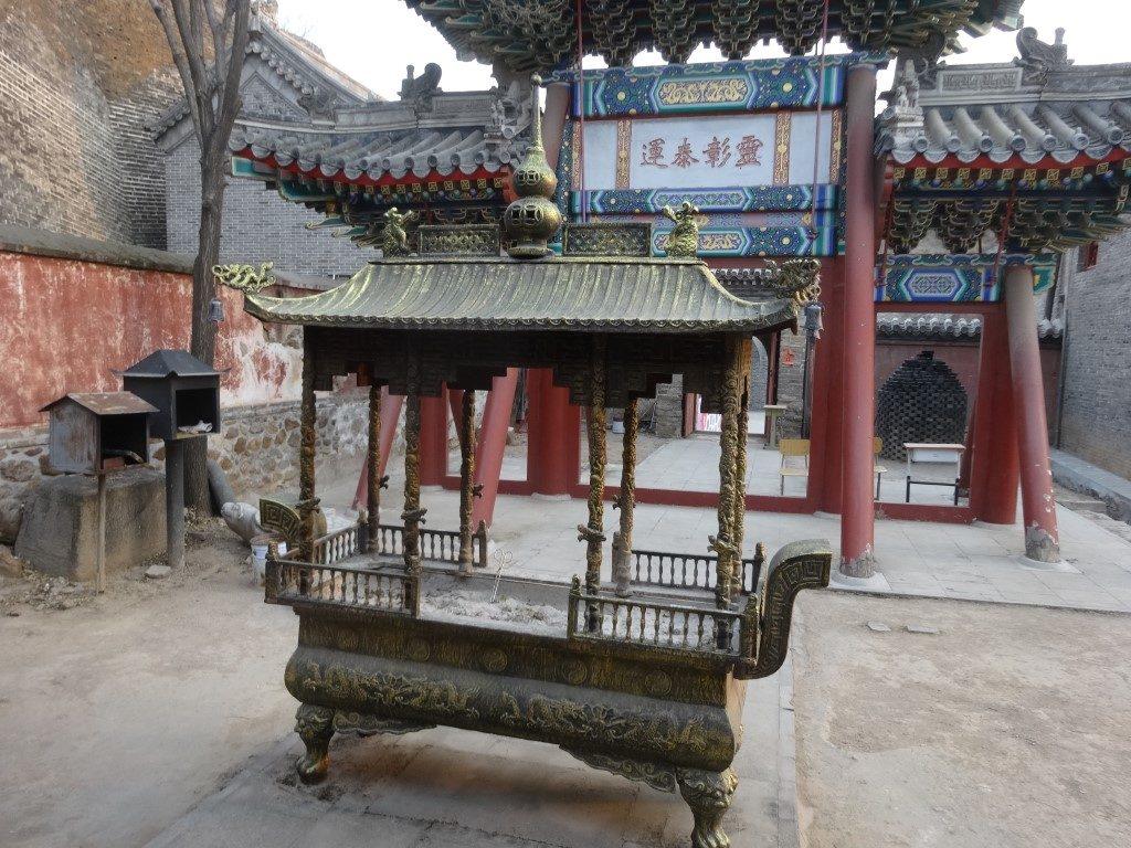 Le temple dans le village de Gubeiku