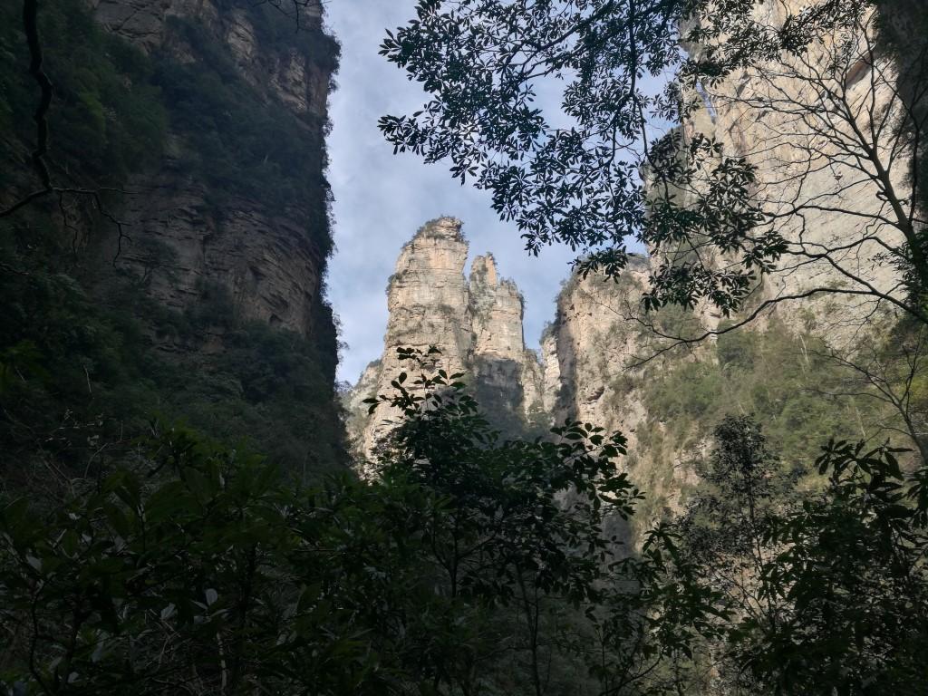 Balade dans la zone en bas des montagnes