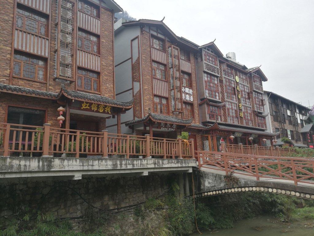 Dans les rues de Wulingyuan