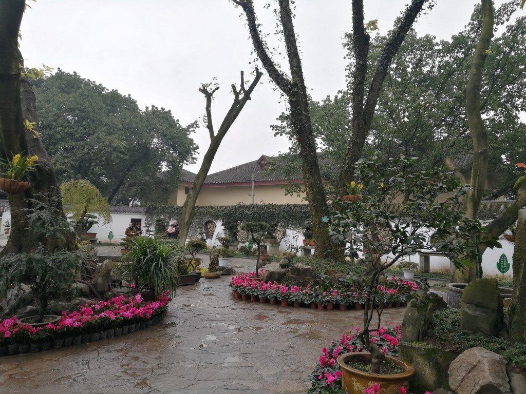 Le Parc Pipashan sur les hauteurs de la ville