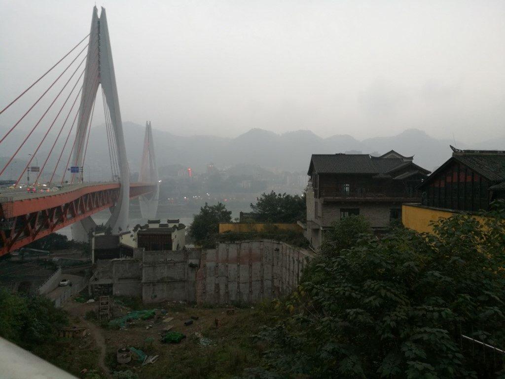 Sur les berges du fleuve Yangtze, véritable autoroute qui traverse la Chine