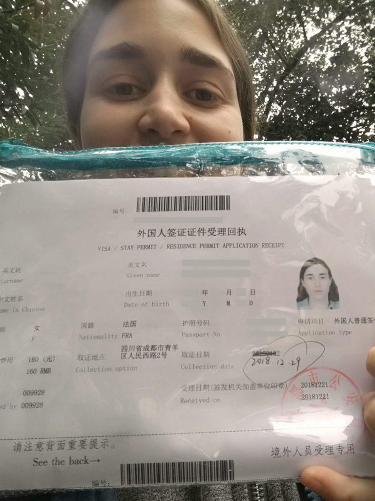 En route pour renouveler mon visa