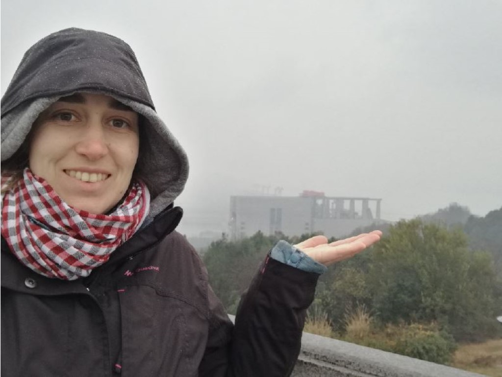Le barrage sur le Yang-Tze