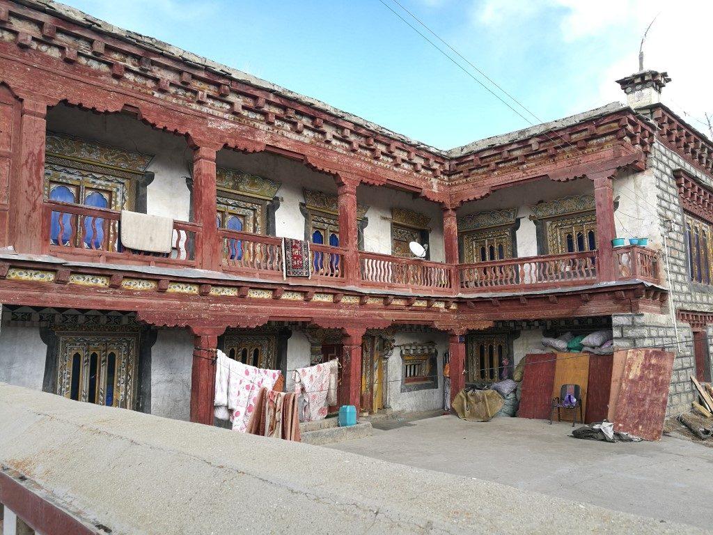 Une très ancienne maison traditionnelle
