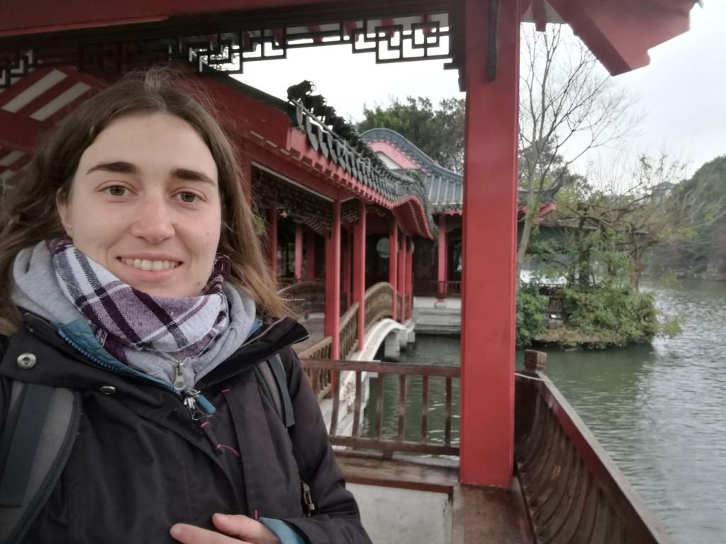 Balade sur l'île au centre du lac de Guilin