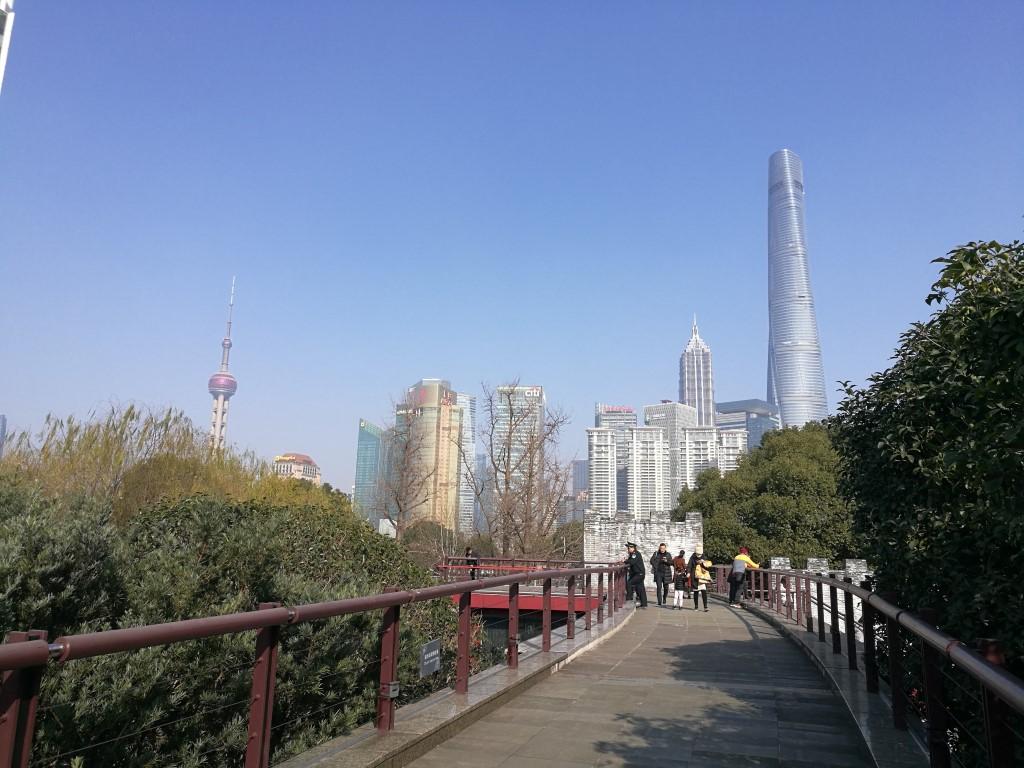 Balade dans Shanghai en direction de Pudong