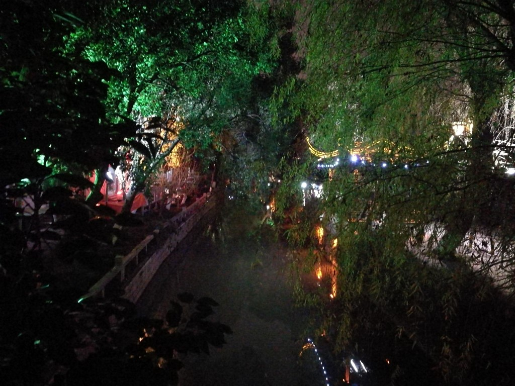 Balade dans Suzhou en fin de journée