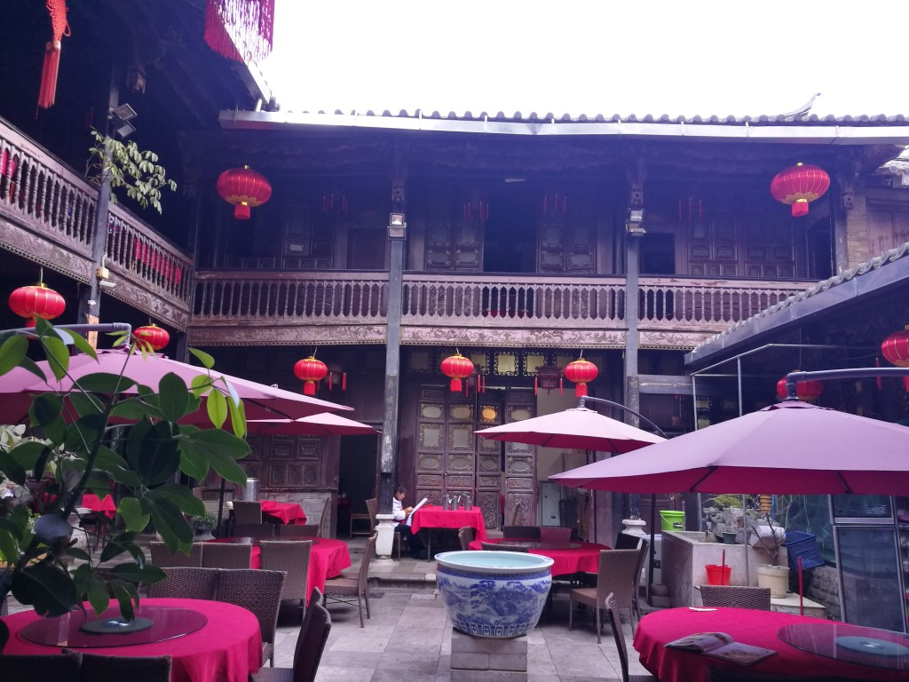 Un resto cosy à Kunming