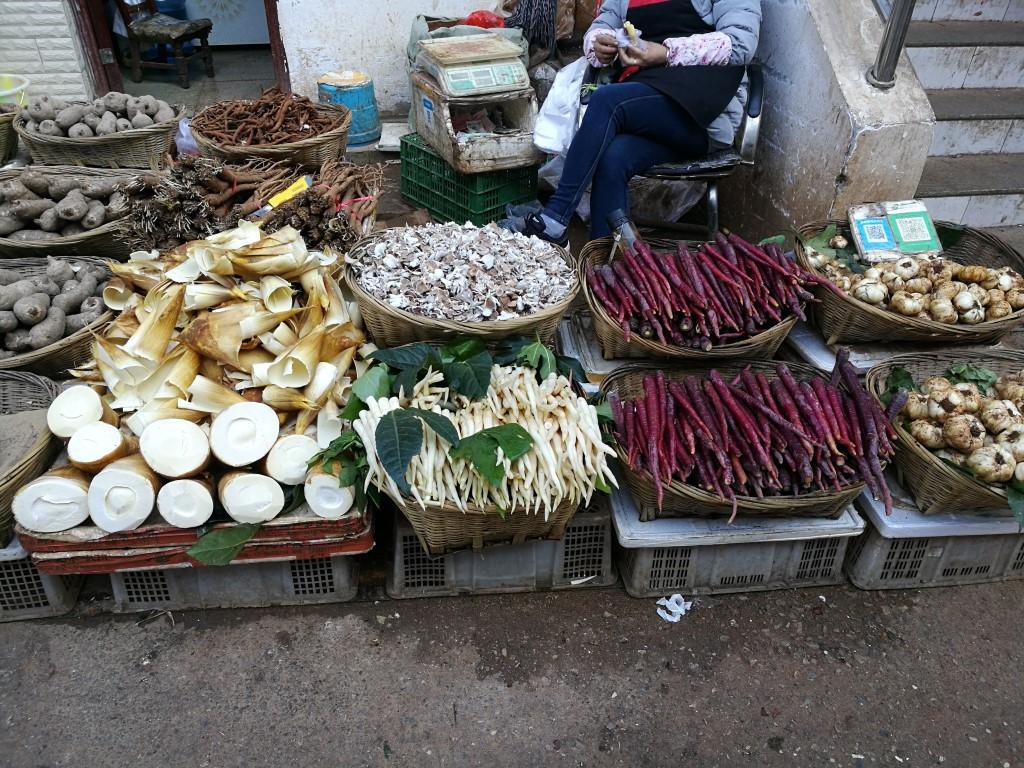 Les merveilles, ou pas, du marché de Kunming