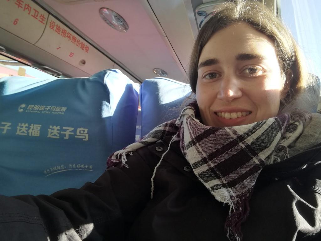 Dans le bus pour Xishuangbanna