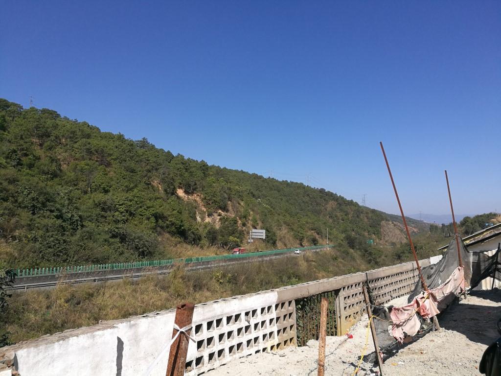 Sur la route en direction de Xishuangbanna