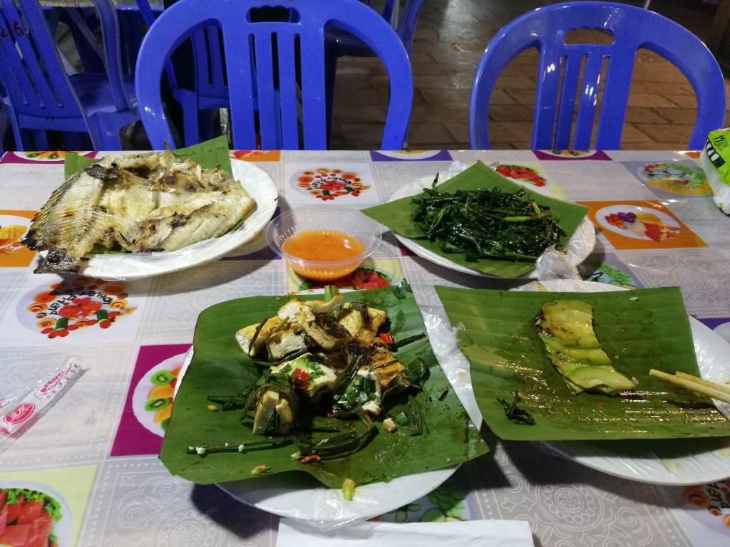 Le barbecue de Xishuangbanna