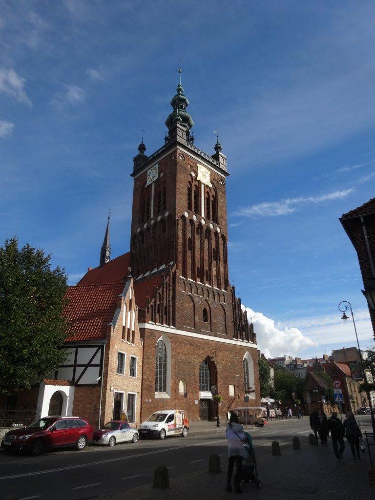 Une église dans Gdansk