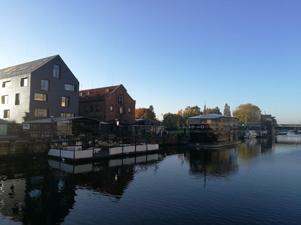 Le canal de Klaipeda