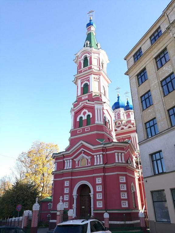 Une église orthodoxe à Riga