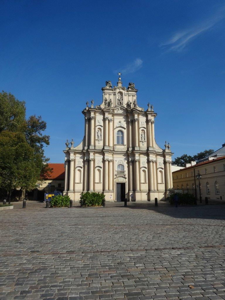 Une église dans la vieille ville