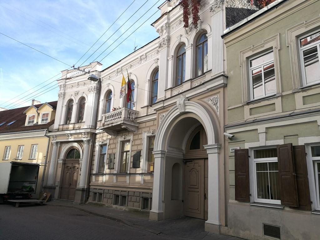 Une des bâtiments du quartier huppé deVilnius