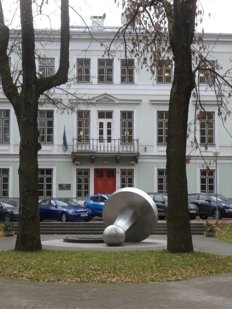Un bâtiment dans Tartu