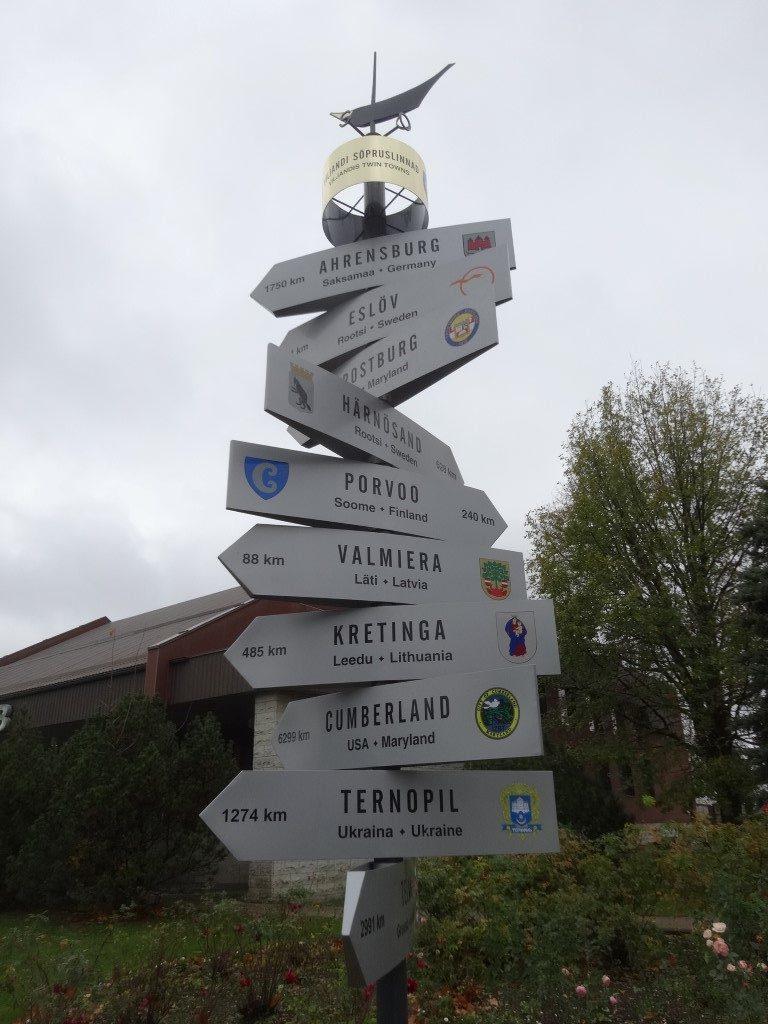 Les villes jumelées à Viljandi