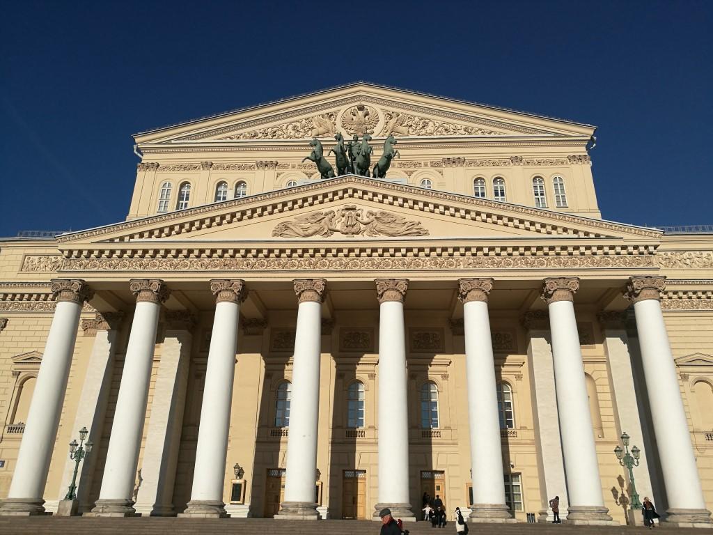 Le célèbre théâtre Bolchoi de Moscou