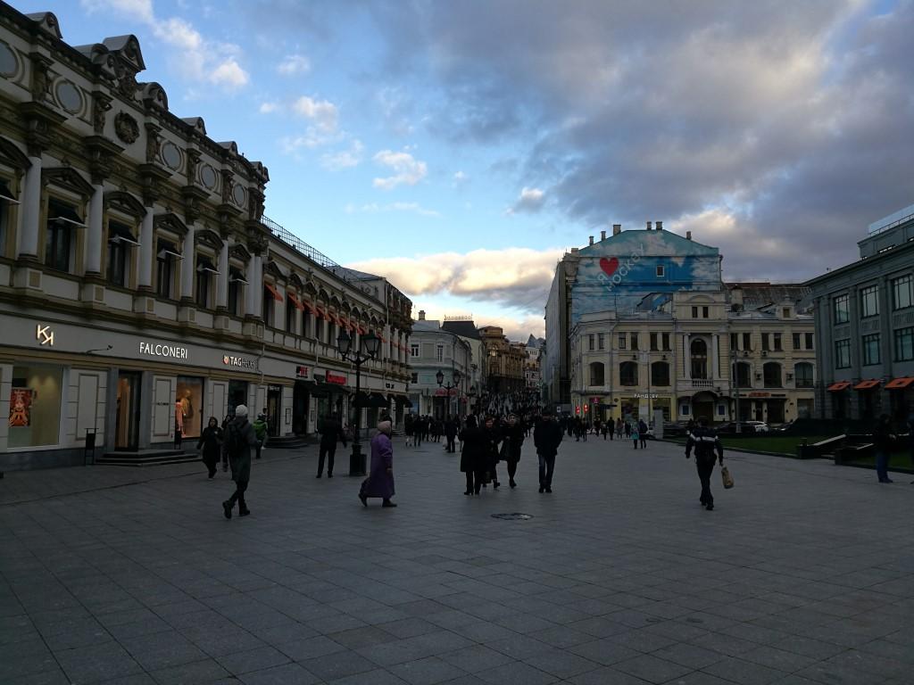 Dans les rues de Moscou