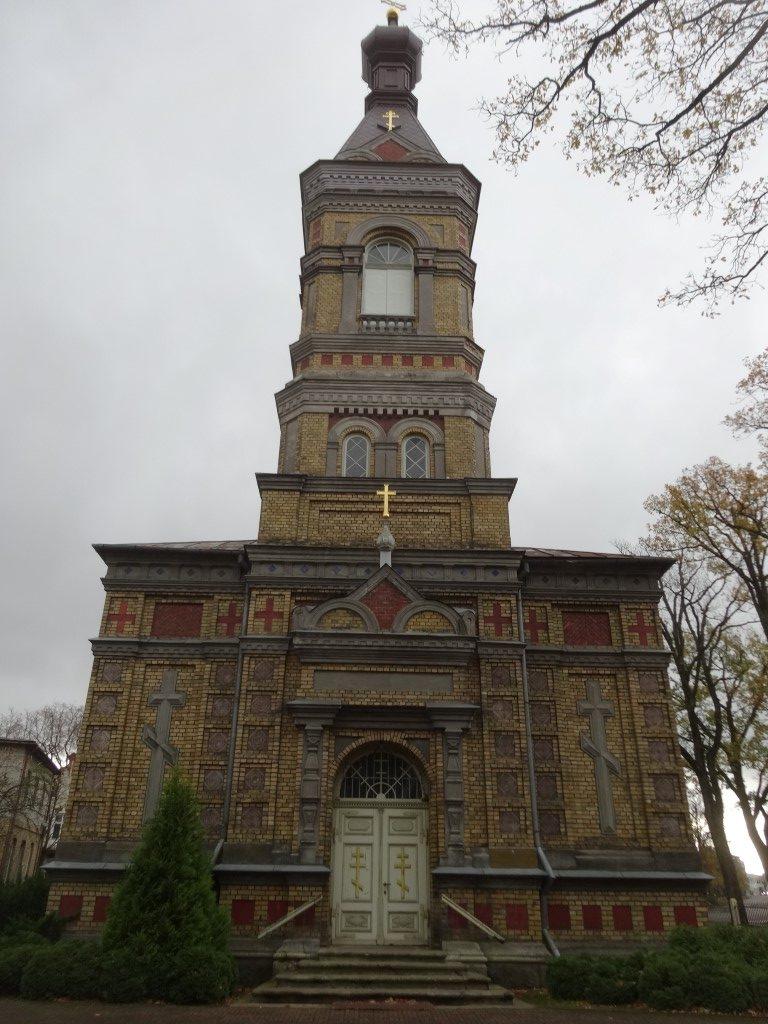 Une des églises orthodoxe de la ville