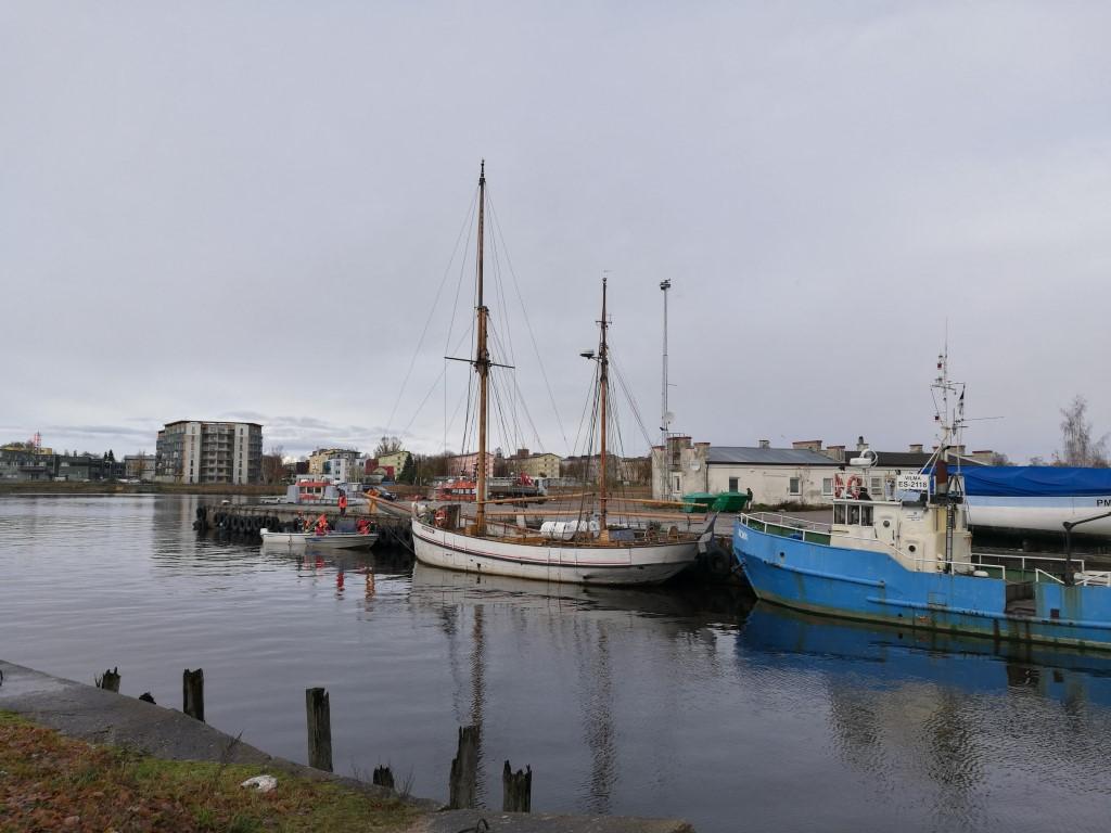 Le port de pêche