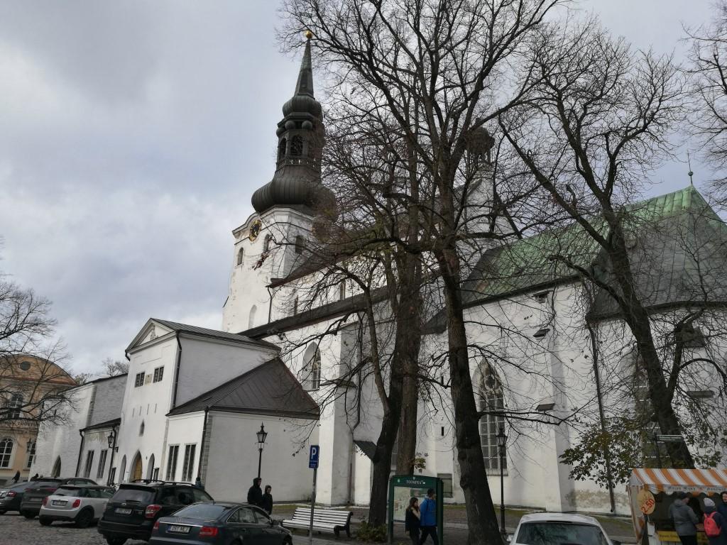 Une des nombreuses églises de Tallinn