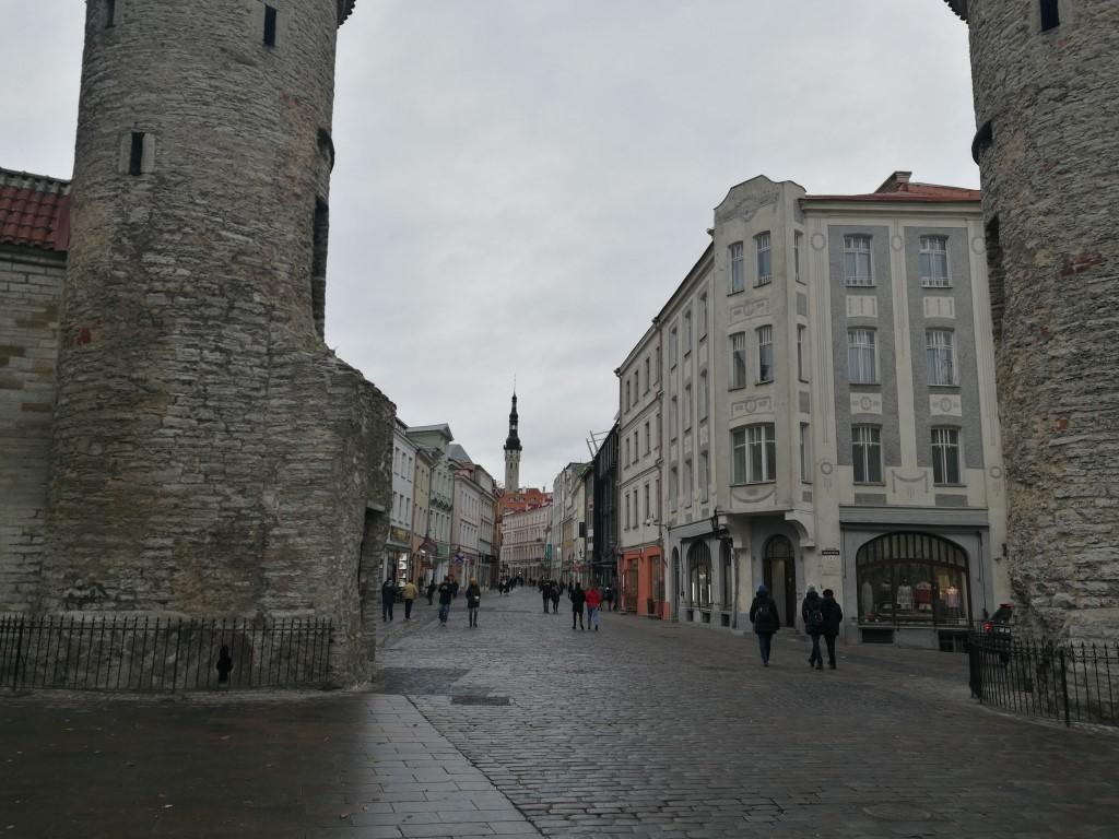 Tallinn, entrée de la vielle ville