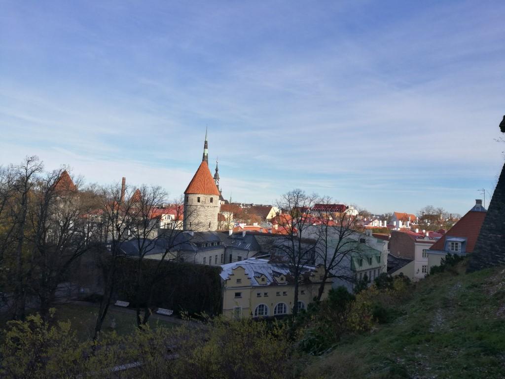 Tallinn vu d'en haut