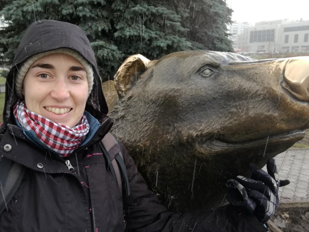 L'ours de Sibérie