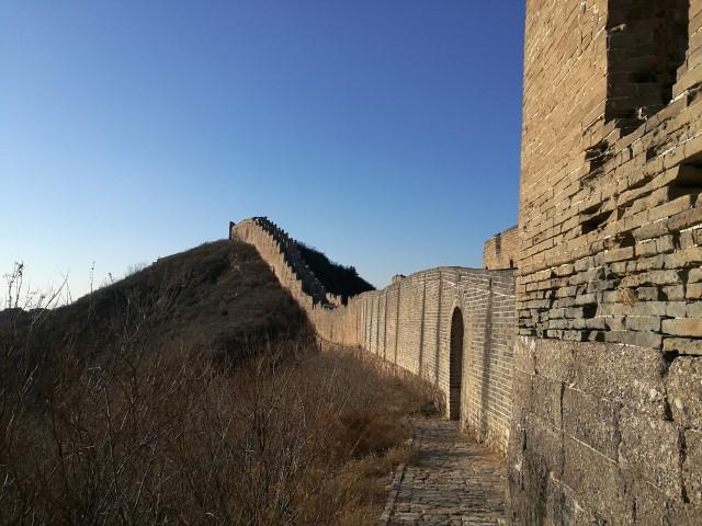 La Grande Muraille restaurée à Jinshanling