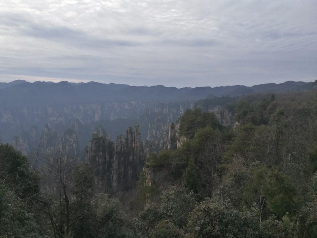 Balade sur la zone haute des Avatar Mountains